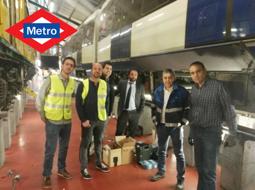 RPS successfully tested in Metro de Madrid