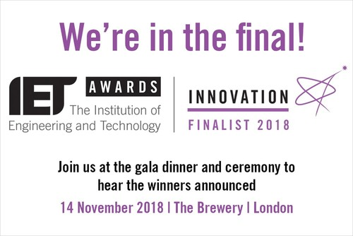 AutoDrive Solutions is selected for the IET innovation awards