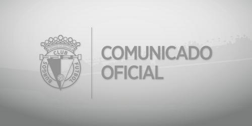 Información exclusiva a través de los canales oficiales del Burgos Club de Fútbol