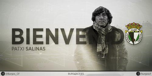 Patxi Salinas se convierte en entrenador del Burgos Club de Fútbol