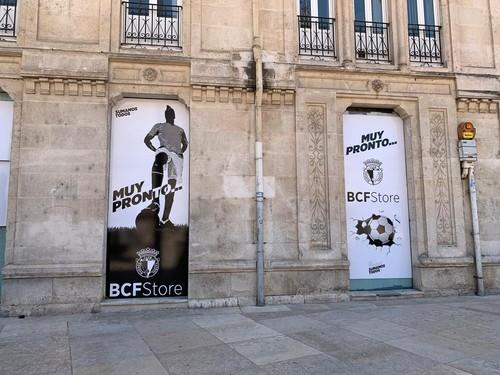 El Burgos tendrá su propia tienda en el Centro Histórico