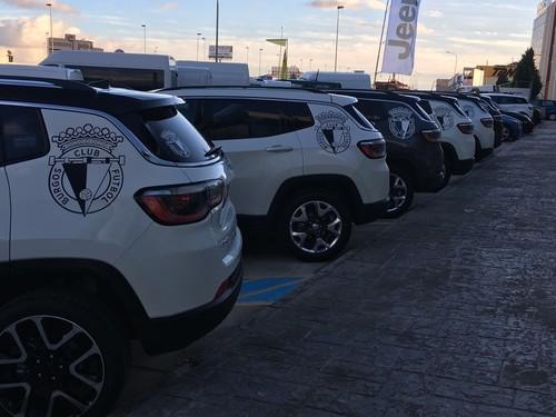Presentados los vehículos oficiales de la Fundación Burgos CF
