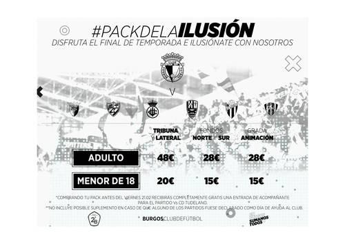 El club lanza el 'pack de la ilusión'
