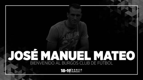 JOSÉ MANUEL MATEO, NUEVO ENTRENADOR DEL BURGOS CF