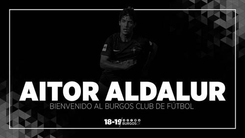 AITOR ALDALUR, NUEVO JUGADOR DEL BURGOS CF