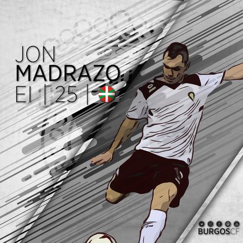 JON MADRAZO LLEGA AL BURGOS CLUB DE FÚTBOL