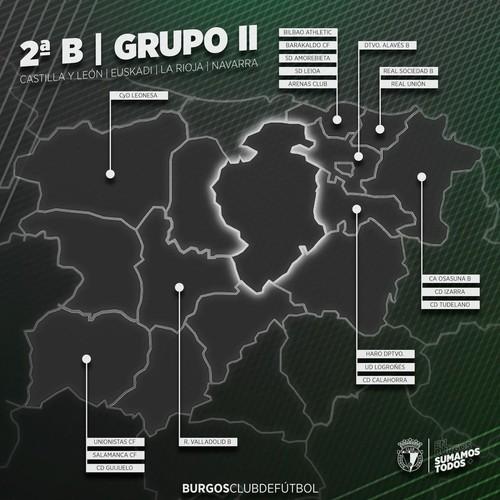 El Burgos CF jugará la próxima temporada en el grupo II
