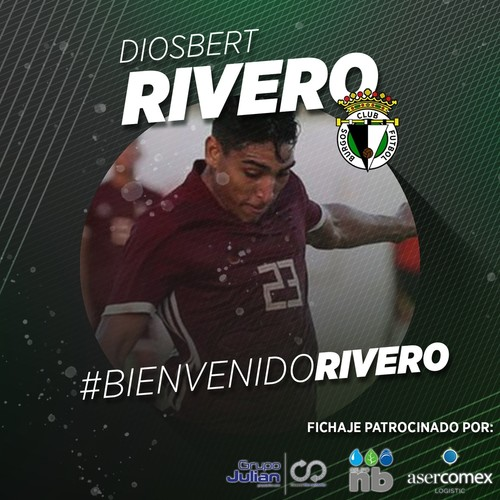 Diosbert Rivero, juventud para el ataque burgalesista