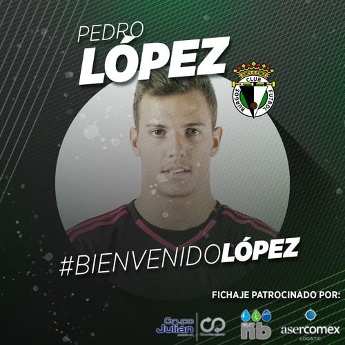 Pedro López, nuevo portero burgalesista