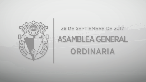 Asamblea General Ordinaria de Burgos Club de Fútbol