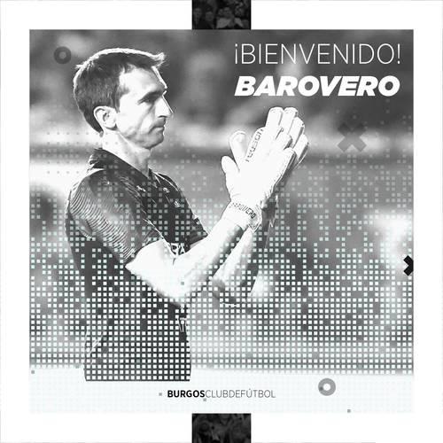 Barovero, nuevo portero blanquinegro
