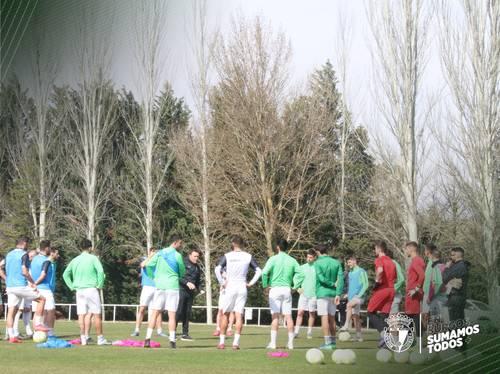 El Burgos CF suspende sus entrenamientos hasta nuevo aviso