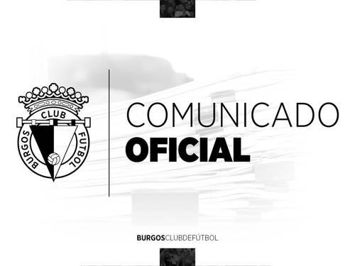 El Burgos Club de Fútbol se une a las medidas de prevención de expansión del Coronavirus