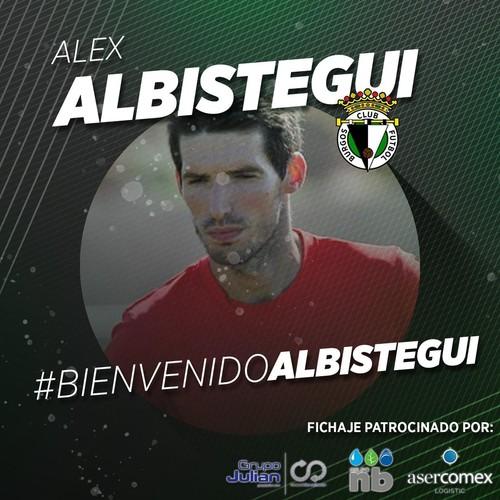 Albístegui, nuevo jugador del Burgos