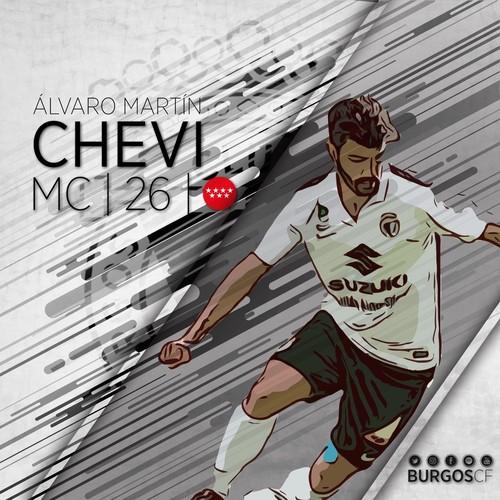 Chevi regresa al Burgos CF