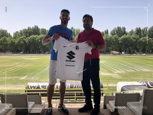 Héctor Figueroa, ilusionado con el proyecto del Burgos CF