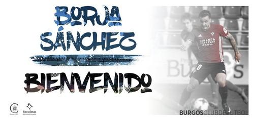 El Burgos incorpora a Borja Sánchez