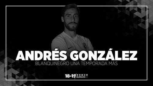 RENOVACIÓN DE ANDRÉS GONZÁLEZ