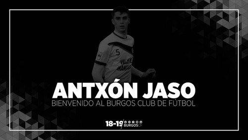 ANTXÓN JASO, NUEVO JUGADOR DEL BURGOS CF