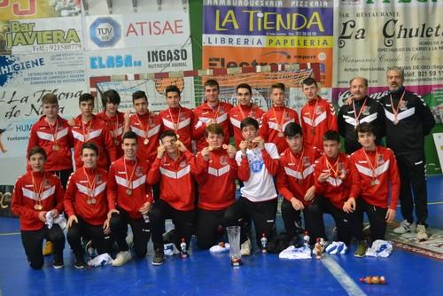 Frioes XXI consigue el bronce en la Final del Campeonato de Castilla y León