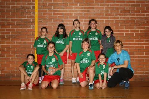 3 - 21 Fuentecillas subcampeón provincial alevin femenino