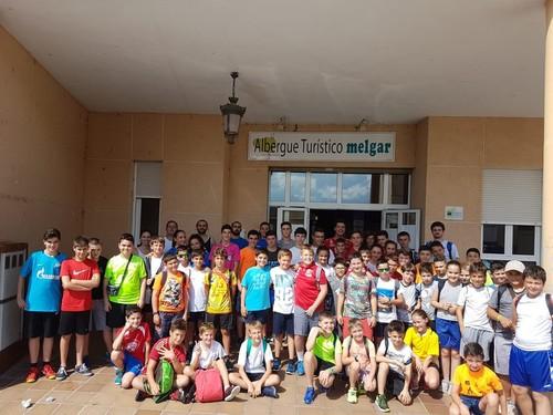 II Campus de verano del Club Balonmano Burgos