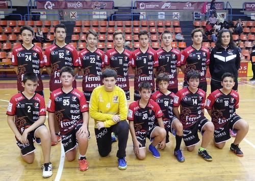 22-19 Temiño Pérez y Moral Cayuela  juegan un duelo igualado