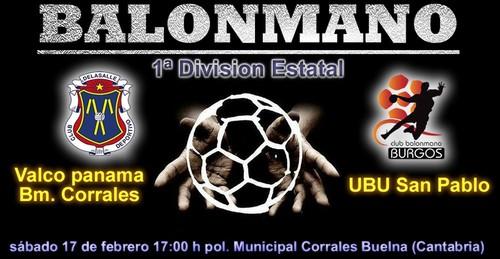 UBU San Pablo se desplaza a Corrales en busca de una victoria que le acerque al liderato.