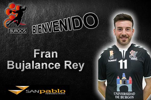 Francisco Bujalance Rey nuevo jugador de UBU San Pablo Burgos