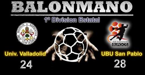 UBU San Pablo sigue su racha de triunfos con la victoria en Valladolid
