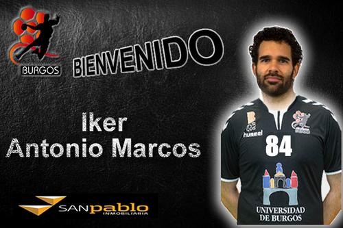 Iker Antonio Marcos nuevo jugador de UBU San Pablo Burgos