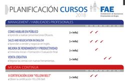 PLANIFICACION DE CURSOS 2018