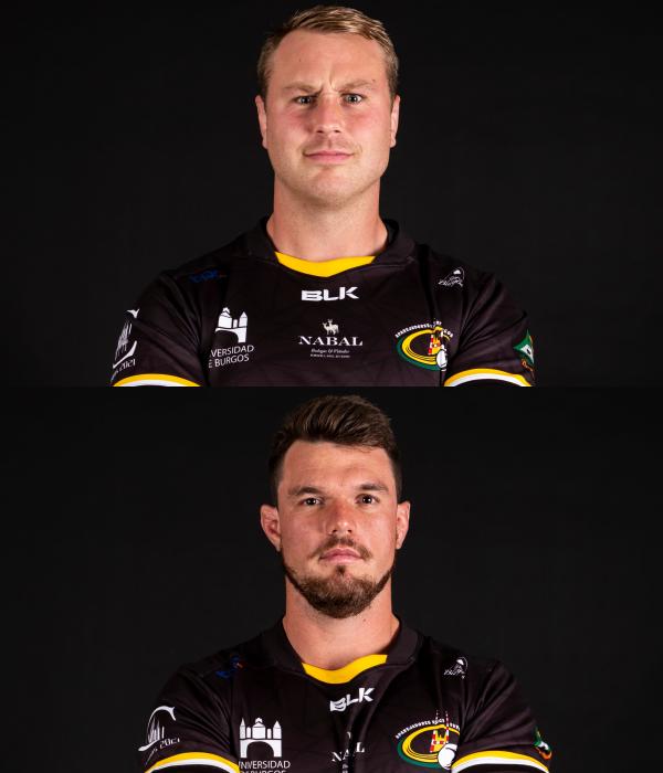 Ien Ascroft-Leigh y Johan Wagenaar continúan en el equipo