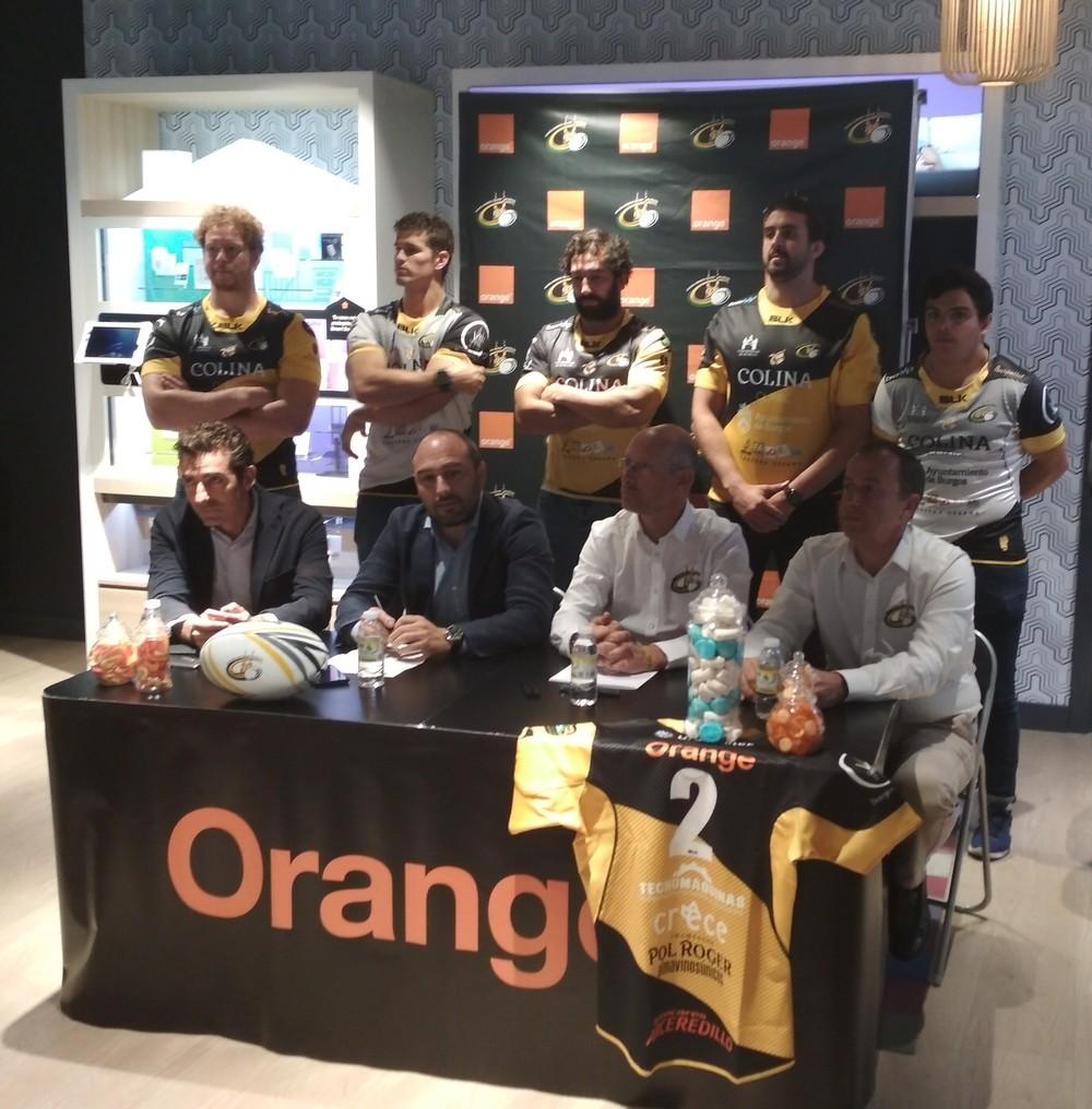 Presentación patrocinio Orange