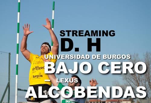STREAMING 4ª JORNADA DE DIVISIÓN DE HONOR 29/11/20