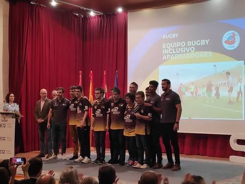 Premio a nuestro equipo de Rugby Inclusivo