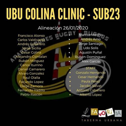 Alineaciones DH y SUB23 contra UE Santboiana