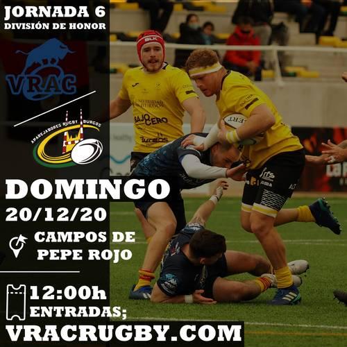 STREAMING 6ª JORNADA DE DIVISIÓN DE HONOR 20/12/20