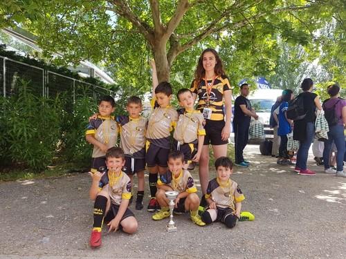 Equipo sub 6 Subcampeón de España