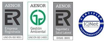 AENOR certifica a SEYS medioambiente