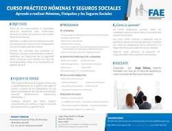 Curso práctico nóminas y seguros sociales