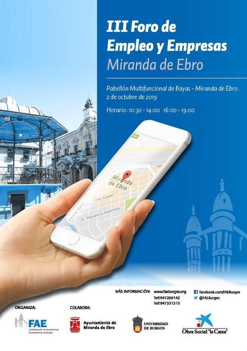 III Foro de Empleo y Empresas Miranda de Ebro