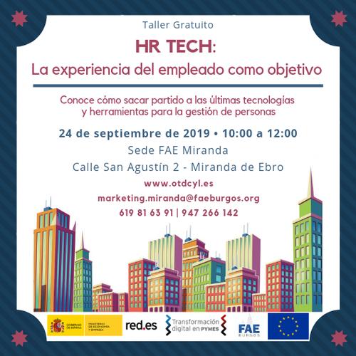 HR TECH: La experiencia del empleado como objetivo