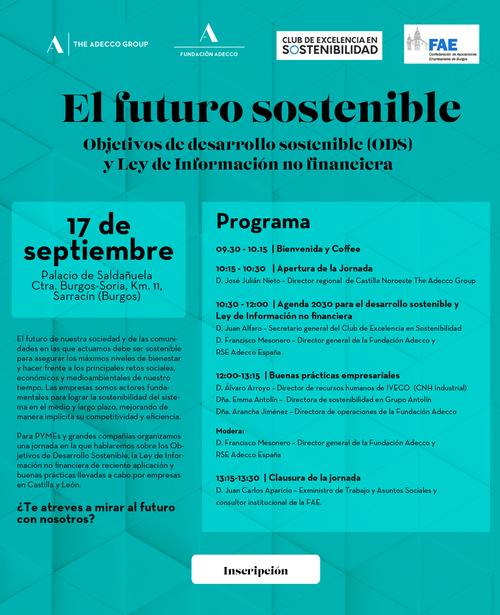 El futuro sostenible: Objetivos de Desarrollo Sostenible (ODS) y Ley de Información no financiera