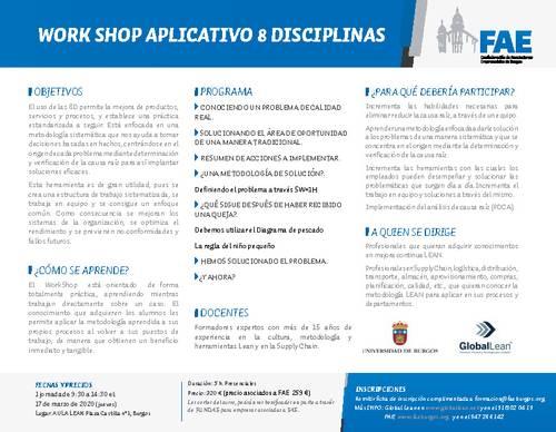 WORK SHOP APLICATIVO 8 DISCIPLINAS
