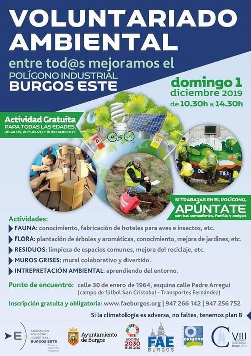 VOLUNTARIADO AMBIENTAL - Pol. Industrial Burgos-Este