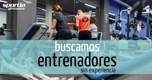 Entrenador de Fitness con formación, sin experiencia
