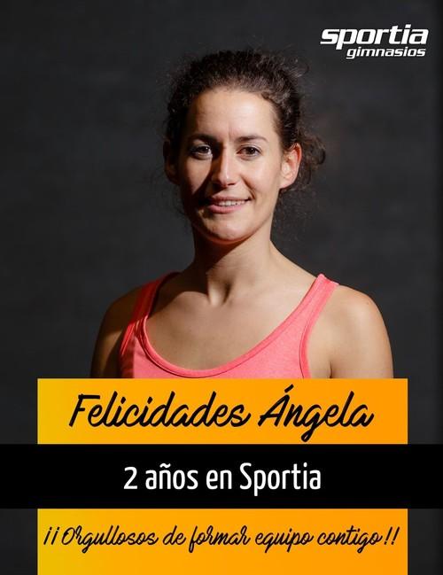 Ángela cumple 2 años en Sportia