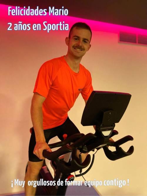 Mario Ureña: 2 años en Sportia Gimnasios