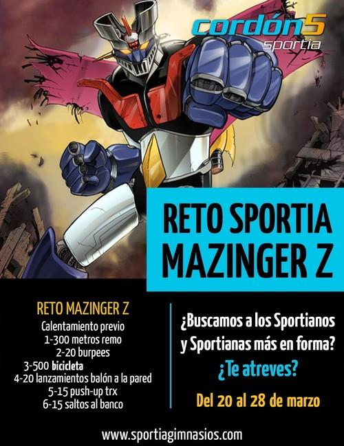 Reto Mazinguer Z
